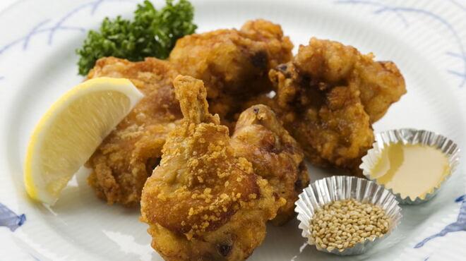 銀座洋食 三笠會館 - 料理写真:伝統の味 若鶏の唐揚げ
