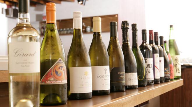 歩路庵 中目黒 - 料理写真:厳選カリフォルニアワインとニューワールドワイン