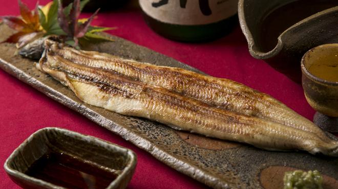 つぼみ - 料理写真:鰻の白焼き
