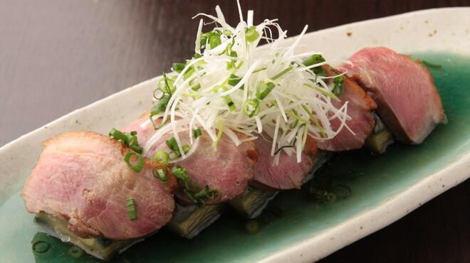 輝 - 料理写真:京鴨ロースと茄子のしぎ煮