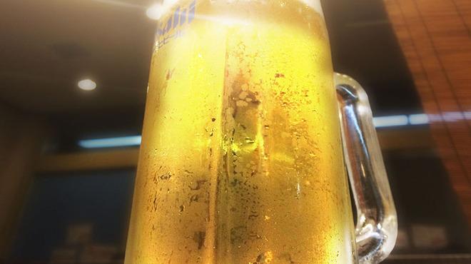 鉄板焼酒場 はふう - ドリンク写真:もちろん生ビールも!