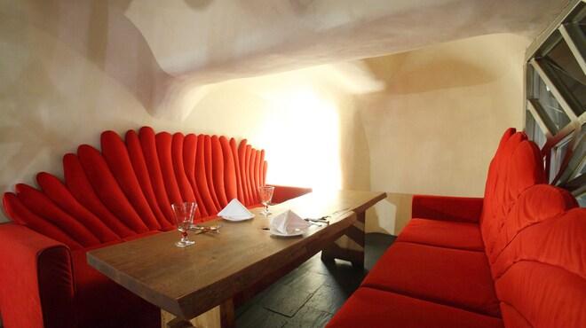 リストランテ・リアル - 内観写真:半個室タイプのお席もございます。