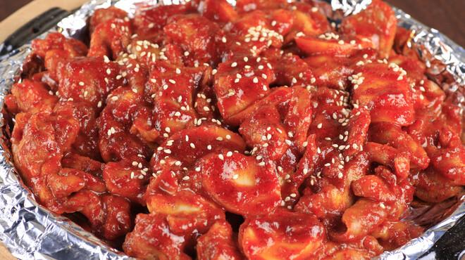 まいうKOREA - 料理写真:「ブルタック」当店が日本で最初に紹介した超~辛い鶏焼きです。