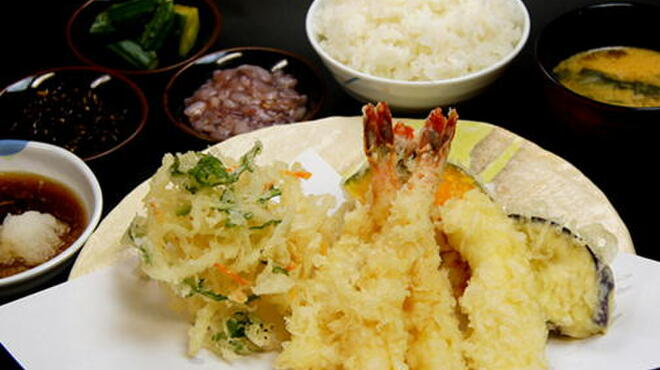 天ぷらめし 天之助 - 料理写真:海老ざんまい定食