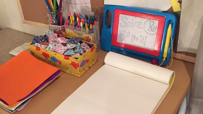 Spice&mill - 内観写真:子供を遊ばせておけるおもちゃ沢山♪