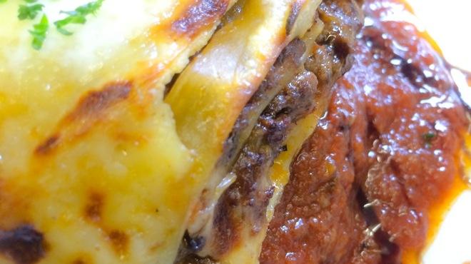 グルグル イタリア食堂 - 料理写真:自家製ハンバーグのラザニアのせ