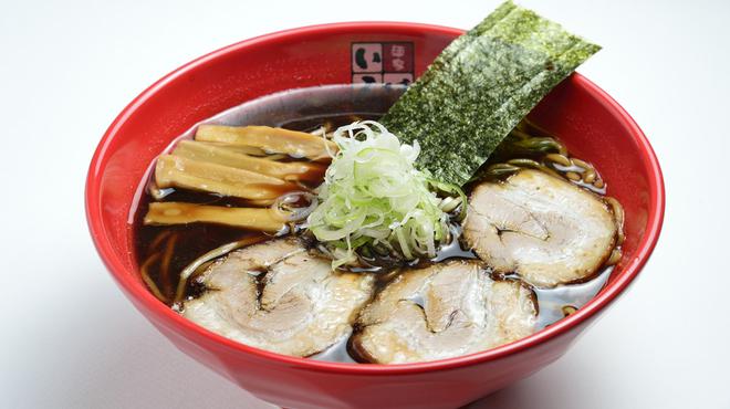 富山ブラック 麺家いろは - 料理写真:富山ブラックらーめん