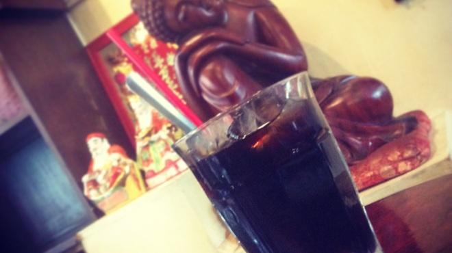亞細亞食堂サイゴン - ドリンク写真:ベトナム練乳入りコーヒー