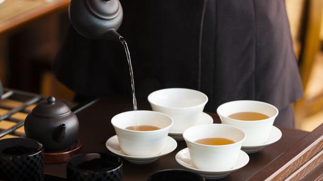 チャイナシャドー - ドリンク写真:お茶ワゴンサービス
