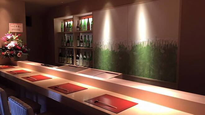 寿司 さ々木 - 内観写真:1階カウンター