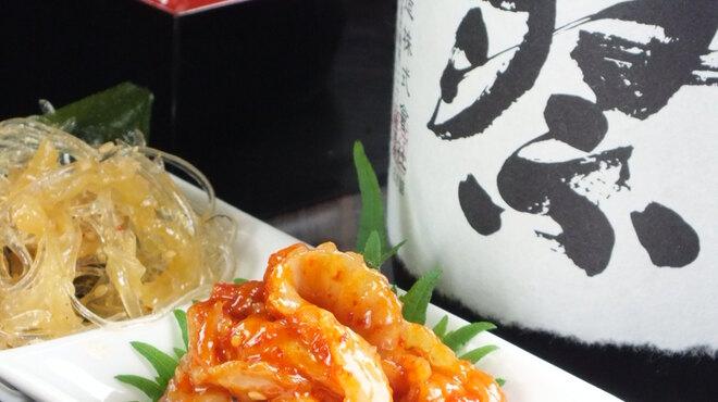 秋津日本酒居酒屋 しば田 - 料理写真:旨い日本酒に合う珍味は日替わりにて