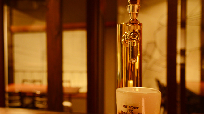 いちねん - ドリンク写真:都内でも少ない超達人生ビール
