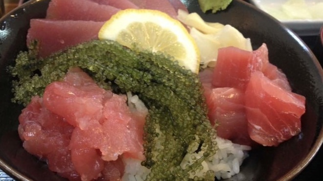海邦丸 - 料理写真:県産マグロ丼