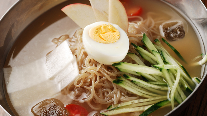 小屋 - 料理写真:水冷麺
