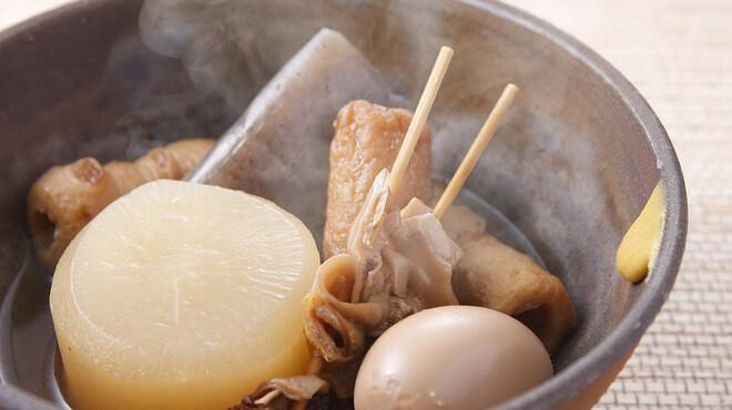 大鍋や - 料理写真:おでんは盛り合わせがお得!