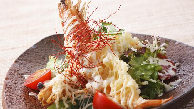 大鍋や - 料理写真:人気の「海老マヨ」はソースが【命】
