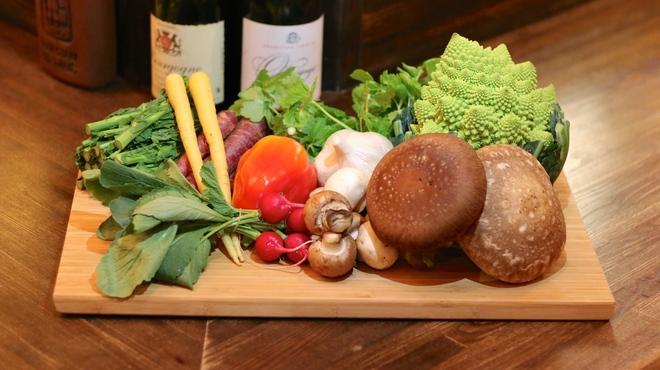 ファシュタ - 料理写真:旬の野菜達