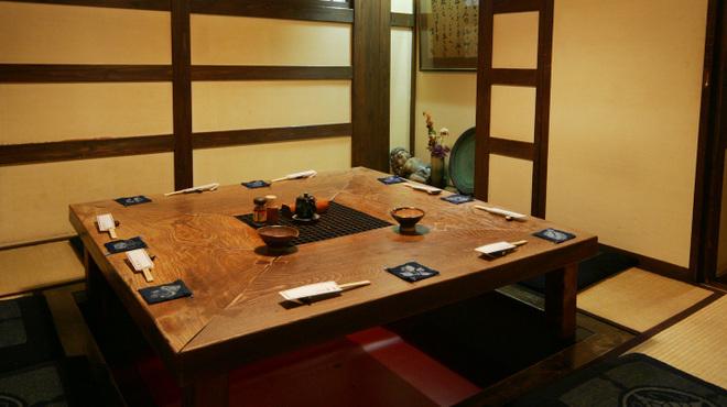 九州郷土料理 赤坂有薫 - 内観写真:【掘り炬燵】5名様~8名様