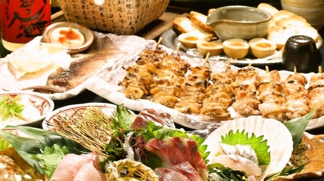 季鶏屋 - 料理写真:宴会コースは飲み放題込みで3500円から!