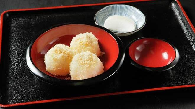 草笛 - 料理写真:くるみおはぎ 630円