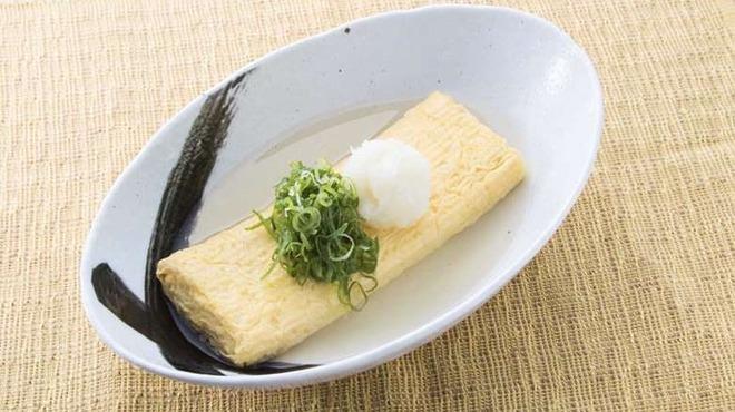 山陰・隠岐の島ワールド - 料理写真:あご出汁巻き玉子