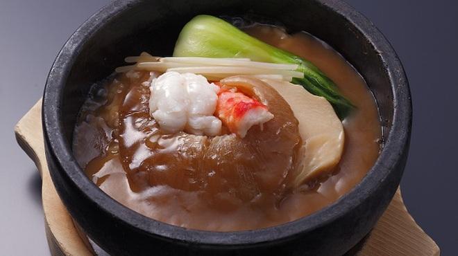 大観苑 - 料理写真:石焼ふかひれ姿煮丼