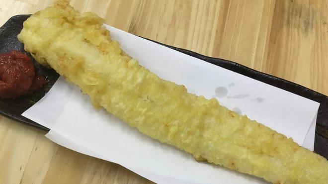 天家 まるまさ - 料理写真:穴子1本揚げ天  680円