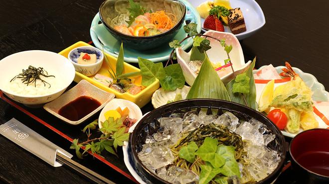 日本料理 鞆膳 - 料理写真:お茶屋さんの茶蕎麦御膳