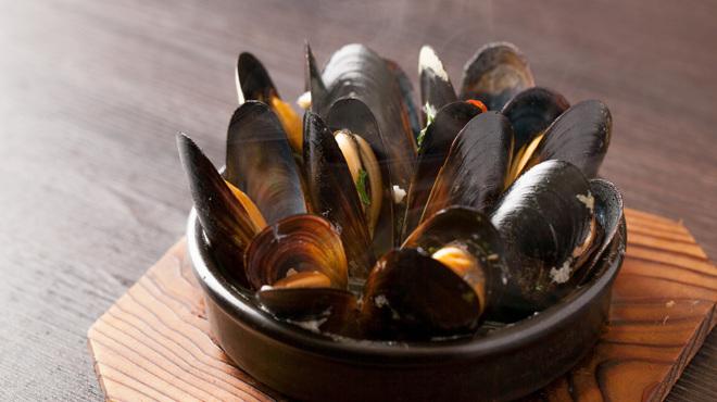 スペインバルエルソル - 料理写真:ムール貝の白ワイン蒸し