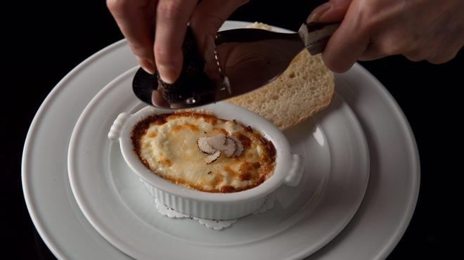 la Brianza - 料理写真:トリュフのオーブン焼き ピエモンテ風