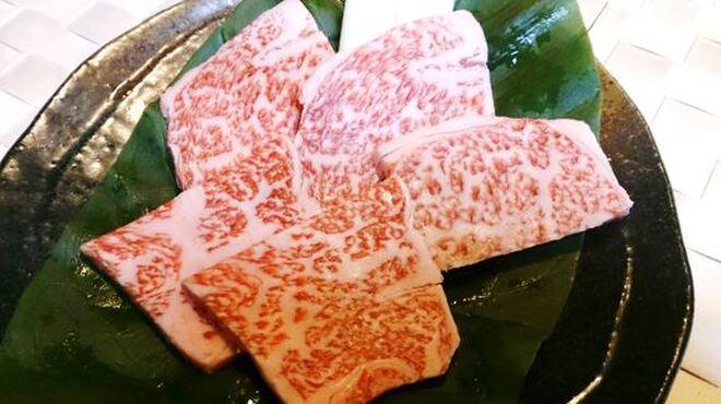 焼肉ひび屋 - 料理写真:上ロース(銘柄和牛) 1,800円