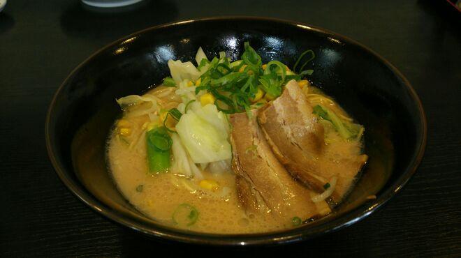 珍豚香 - 料理写真:地元農家さんの野菜の入った 野菜ラーメン