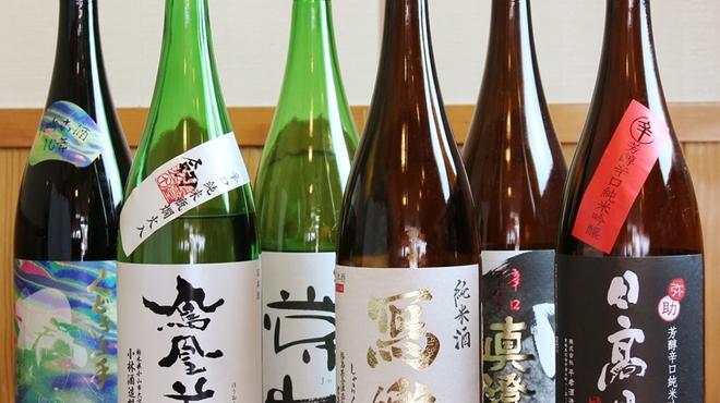 海鮮処 まる貝 - ドリンク写真:酒