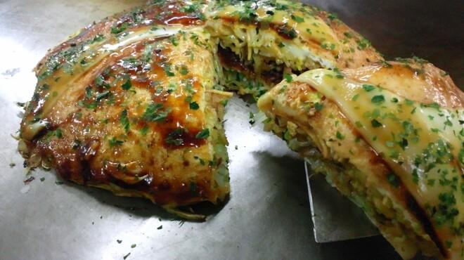 麗ちゃん - 料理写真:スライスチーズ入り