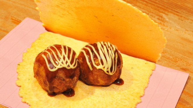 たこ焼道楽 わなか - 料理写真:たこせん ~わなか特製の煎餅ではさんだ、大阪名物おやつ!~