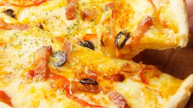 オールドイングランド - 料理写真:【自家製生地】オリジナルミックスピザ ¥1000