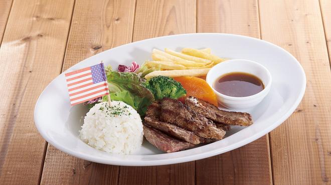 ステーキハウス松木 - 料理写真:≪お子様ハンバーグプレート≫