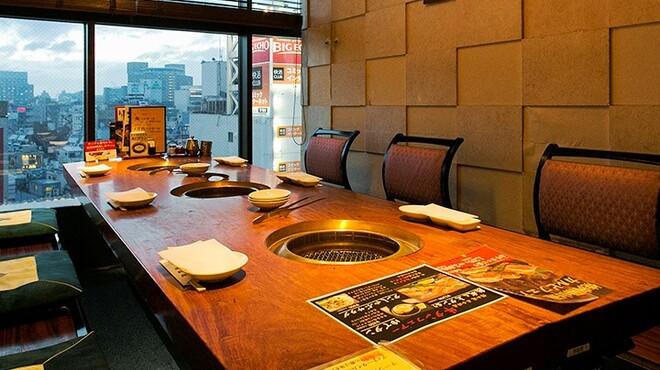 陽山道 - 内観写真:全席個室30室 お好みの個室でゆっくりと