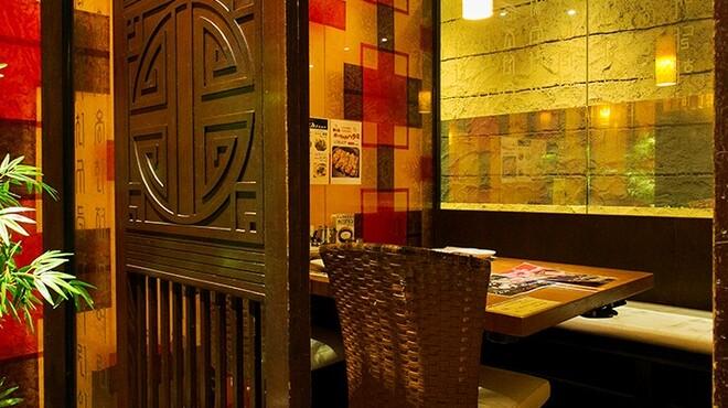 陽山道 - 内観写真:焼肉デートに最適なテーブル個室