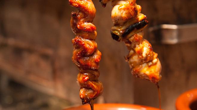 炭火串焼と旬鮮料理の店 炭火焼 炉暖 - 料理写真:大串の焼き鳥