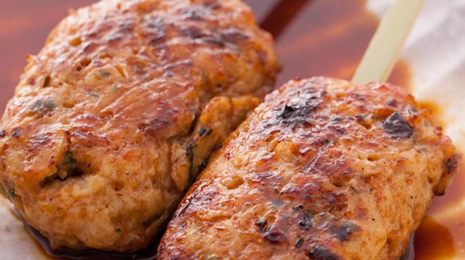 炭火串焼と旬鮮料理の店 炭火焼 炉暖 - 料理写真:自家製とりつくね