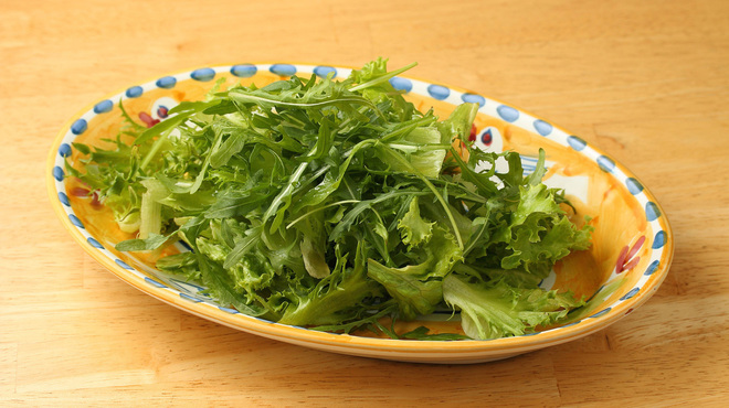 青いナポリ - 料理写真: