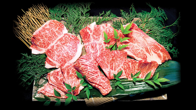 民芸肉料理 はや - 料理写真:プレミアムメニュー登場!黒毛和牛満載の豪華和牛盛