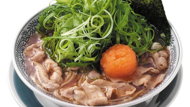 丸源ラーメン - 料理写真:ドッカンねぎ肉そば
