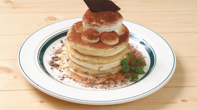 カフェ&パンケーキ gram  - 料理写真:リッチティラミスパンケーキ