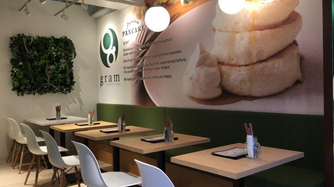 カフェ&パンケーキ gram  - 内観写真: