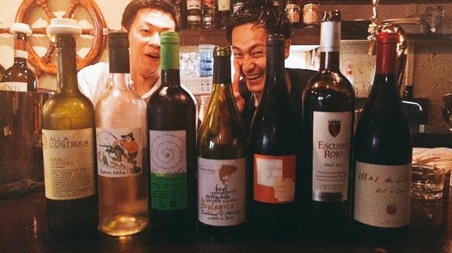 バール aBuku - ドリンク写真:ナチュールワインも充実!!