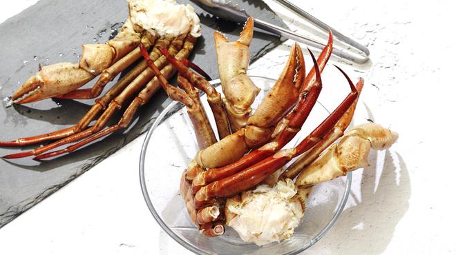 マンゴツリーカフェ - 料理写真:丸ズワイ蟹