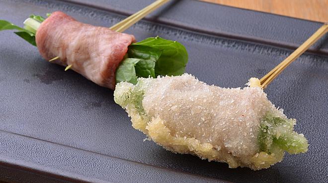 串揚げ 吟音 - 料理写真: