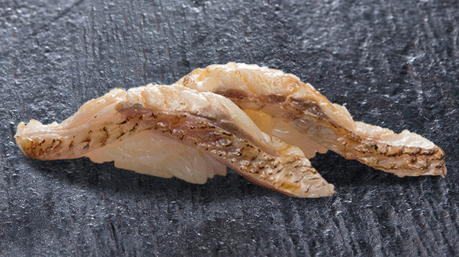 金沢まいもん寿司 - 料理写真:のど黒あぶり650円